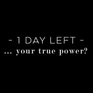 TRUE POWER 5.0 - can you believe it? Ab morgen, 7 Uhr kannst du dich anmelden. One thing is for sure: This is not an online course, this is a movement. 3 Wochen für dich und deine Wahrheit. 23.05. - 13.06.2021 A new concept. Symplicity instead of complexity. You and me. Live everyday. Cause it's about the energy. __ are you ready for an other way of life? your true way?  P.s: Für diejenigen von euch, die jetzt schon ALL IN sind - friends, es gibt einen Start Special für all die, die sich in den ersten 48 Stunden anmelden! Ich gehe morgen um 7 Uhr LIVE - da erfahrt ihr mehr übers Start Special und das gesamte neue Konzept. Can't wait to share this with you!  Love Loa